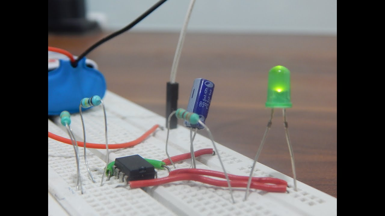 555 Timer As Astable Multivibrator Circuit Youtube Operation Mode