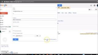 كيفية إنشاء عامل تصفية في ز جناح سابقا Google Apps for Business