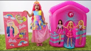 Sofia Becomes a Princess and going to a Party Dolls Barbie