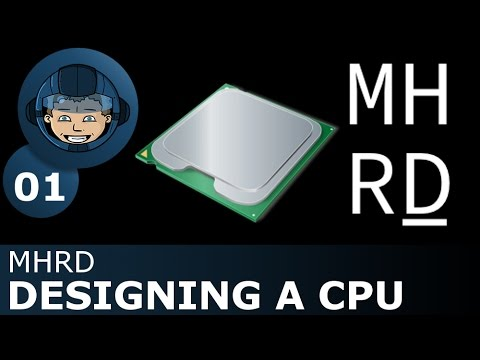 DESIGNING A CPU - MHRD - Tutorial & First Look - Steam Greenlight