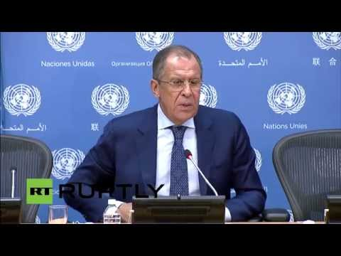 LIVE: Lavrov holds press conference following 70th UNGA session (English Audio)