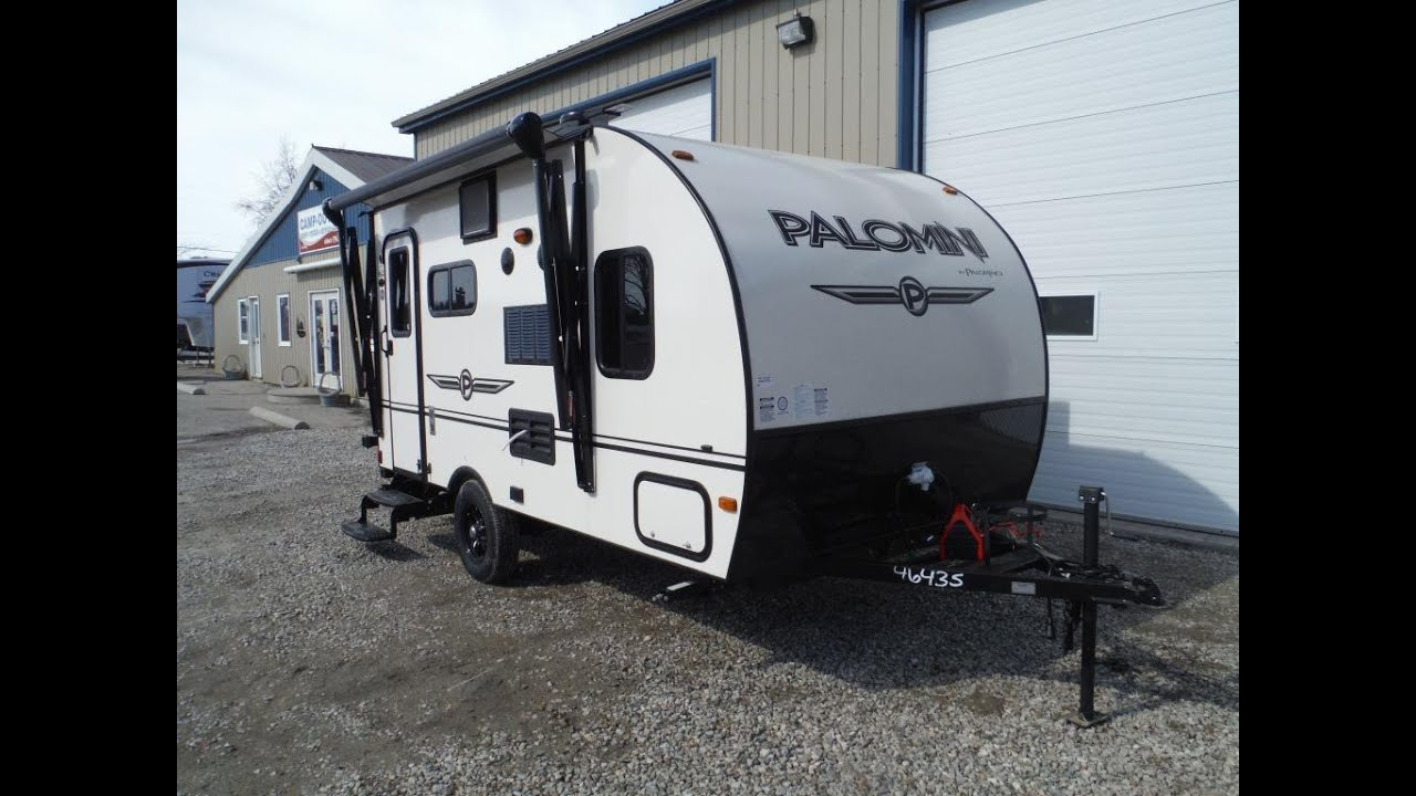2015 Palomini 150RBS Ultra Lite Travel Trailer At Camp Out RV In Stratford
