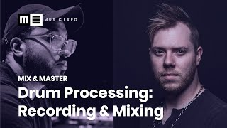 Drum Processing: Recording & Mixing with Frank Socorro and Jake Jones