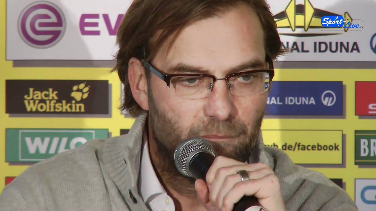 Pressekonferenz von Borussia Dortmund zum Auswärtsspiel gegen den SC Freiburg