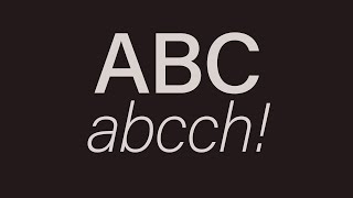 Learn the Welsh Alphabet! Learn the Welsh Alphabet to begin with...