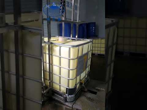 IBC tank cleaning system