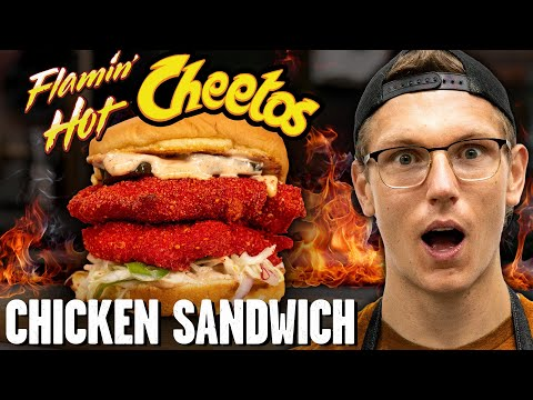 Flamin' Hot Cheetos Chicken Sandwich Recipe from YouTube · Duration:  14 minutes