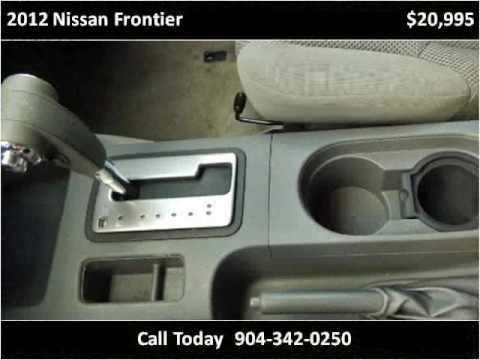 2012 Nissan Frontier Used Cars St Augustine FL