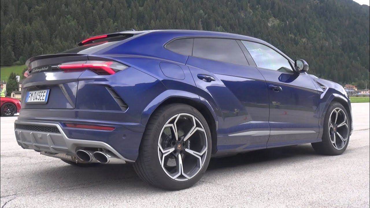 New Lamborghini Urus Exhaust Sound Drag Race Accelerations Youtube