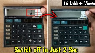 How To Switch Off This Calculator in Just 2 Seconds thumbnail