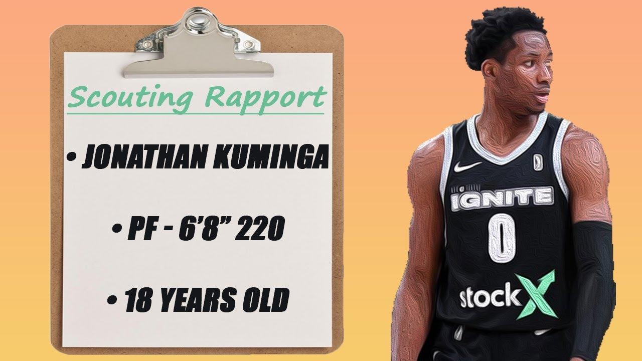 Warriors draft F Jonathan Kuminga from the Congo at No. 7