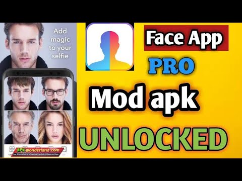 Download Faceapp Por Unlock all features of Free/ feacapp pro Mod apk dawonlad / Feaceaap Pro 4.1.1 Mod apk