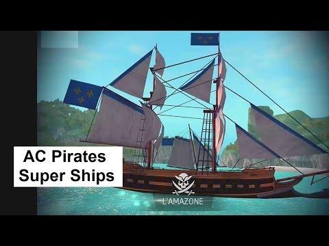 AC Pirates: Super Ships Naval Battles. Assassins Creed Mobile