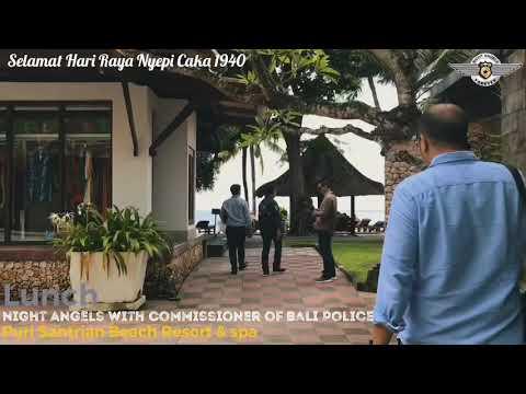 Selamat Hari Raya Nyepi_Night Angels with Commissioner of Bali Police