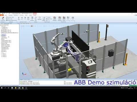 Ipari robotok szimulációja 6.