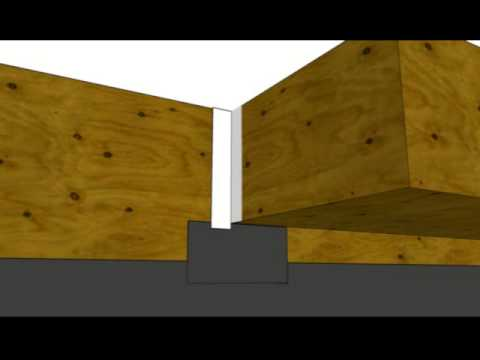 How To Install Building Paper at Soffit Wall Intersection - Exterior Walls