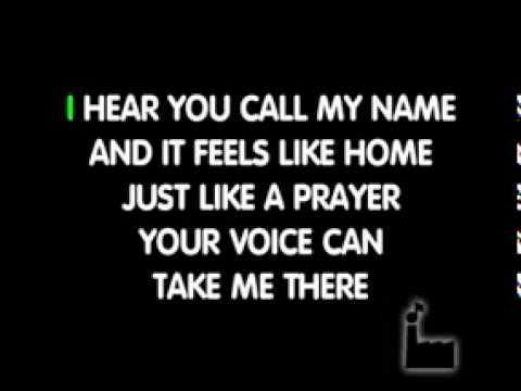 YouTube   Like A Prayer  In Style Of Madonna   Karaoke