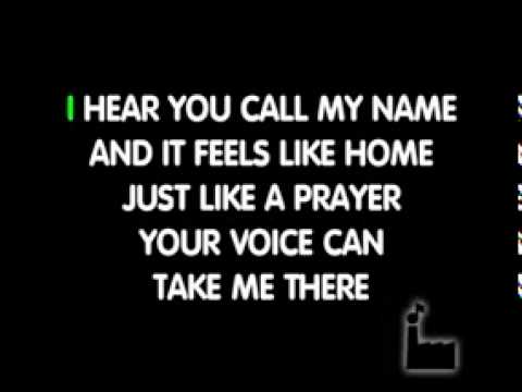Like A Prayer  In Style Of Madonna   Karaoke