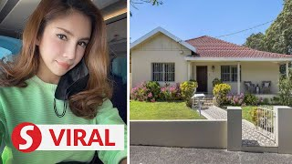 My beautiful home: Nur Sajat shares photos of new house in Sydney