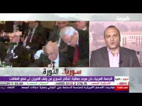 """القربي متحدثاً عن """"تساؤلات"""" وزير خارجية النظام للعرب"""