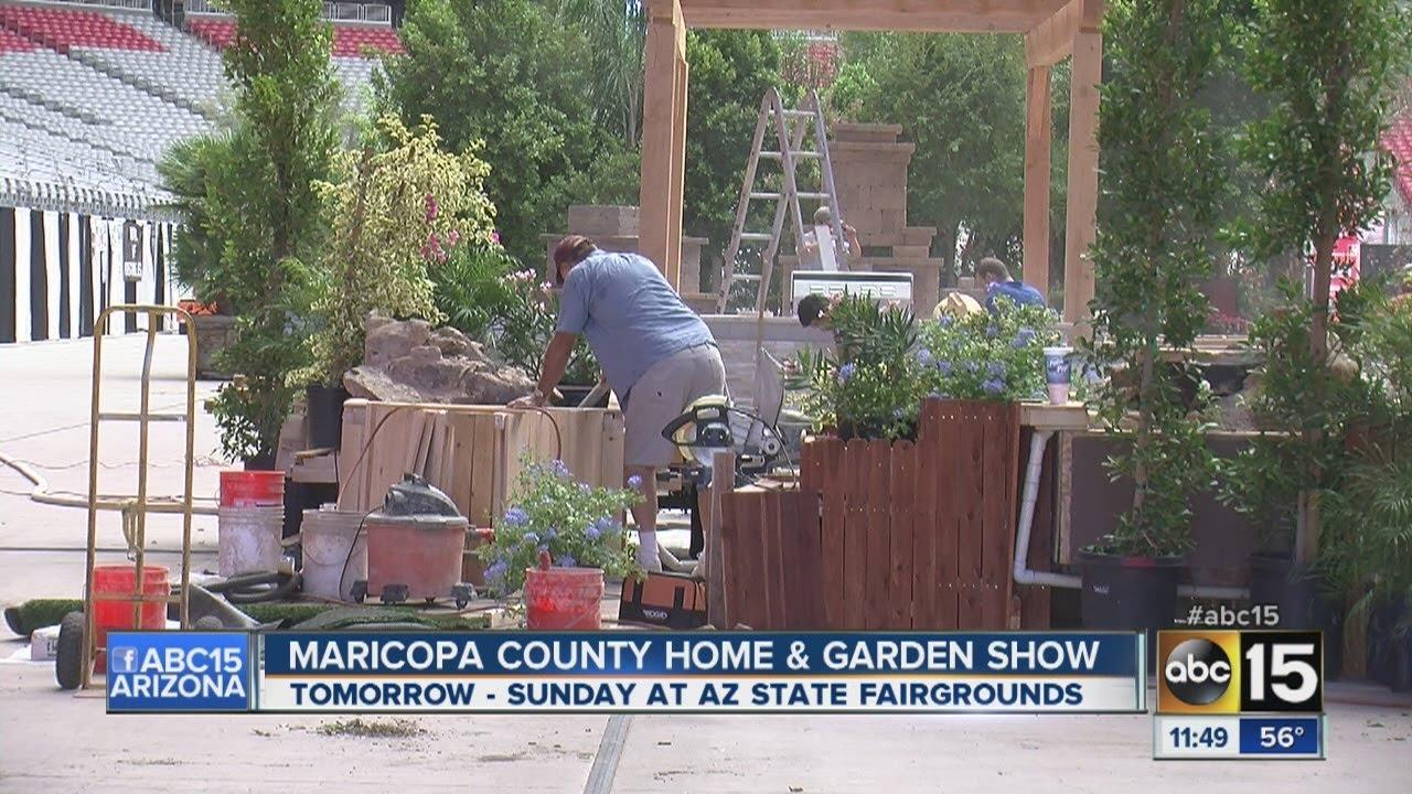 Maricopa County Home And Garden Show Youtube
