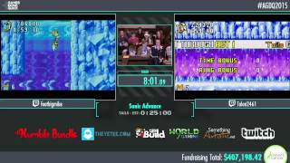 Awesome Games Done Quick 2015 - Part 93 - Sonic Advance by footbigmike and Talon2461