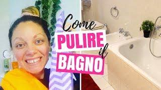 MOTIVATIONAL CLEANING: COME PULIRE A FONDO IL BAGNO + COME PULIRE IL BOX DOCCIA DA CALCARE E MUFFA
