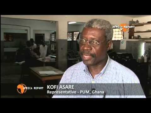 www.africareport.com video - Sonlife Press, Accra, Ghana