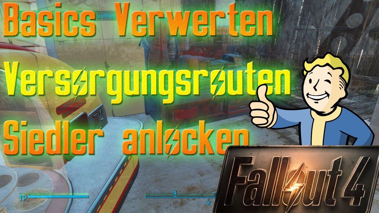 Fallout 4 Versorgungsrouten