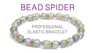 How To Make An Elastic Bracelet- No Glue, Professional Method