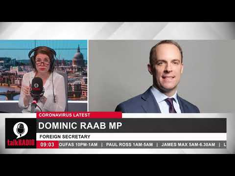 Dominic Raab Speechless due to government lies