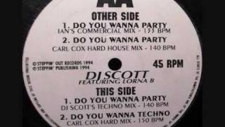 DJ SCOTT  -  DO YOU WANNA PARTY (DJ SCOTT'S TECHNO MIX)