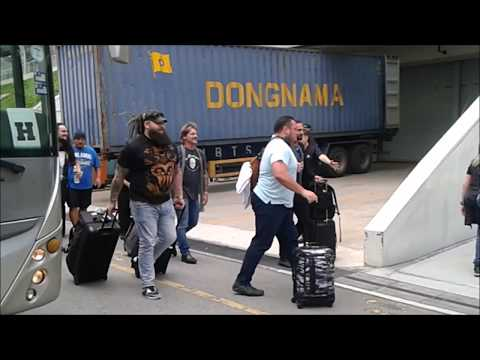 WWE Live Singapore Trip 2017 (Includes Superstars Bus Arrival Close Up Look)