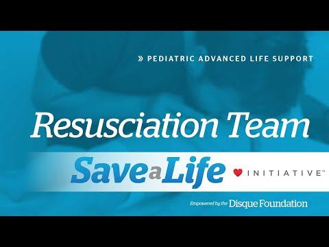2a. Resuscitation Team, Pediatric Advanced Life Support (PALS)