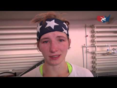 Whitney Conder after going 2-2 at 2014 World Championships at 53 kg