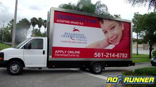 Make a Lasting Impression with Mobile Billboard Truck Advertising and Vehicle Wraps by Ad Runner