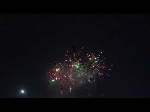 Watch: Downtown Houston fireworks show for Independence Day
