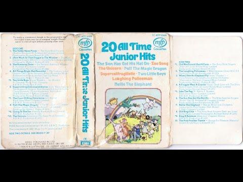 20 All Time Junior Hits children's songs 1970 album LP tape