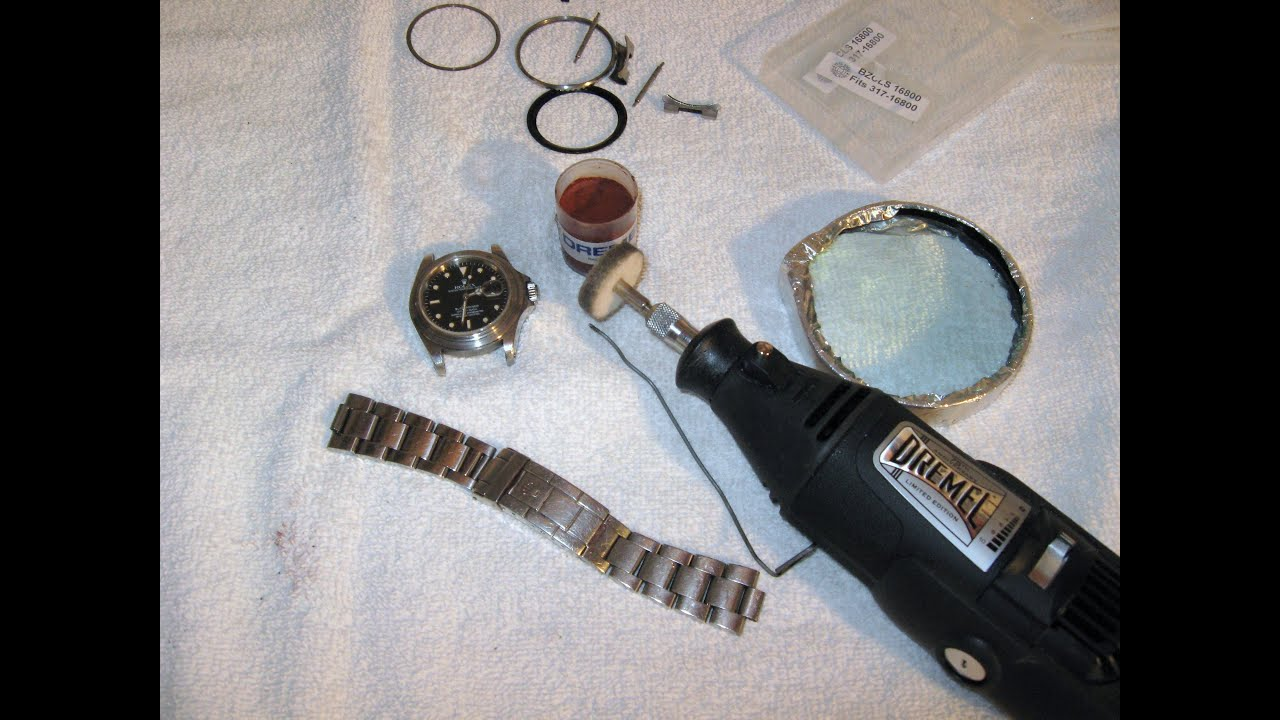 Rolex Submariner Polish And Reassemble Bezel Spring By