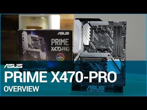 ASUS PRIME AMD Ryzen X470-PRO AM4 ATX Motherboard