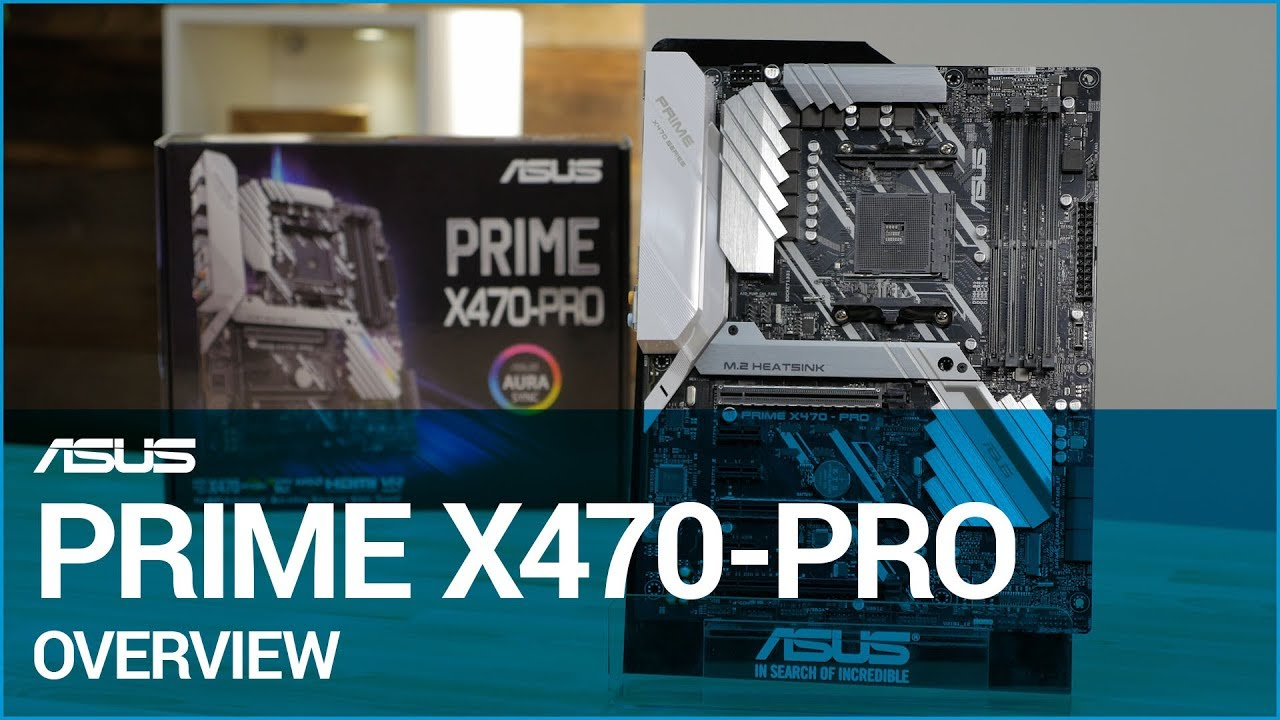 ASUS PRIME X470-PRO Motherboard Overview