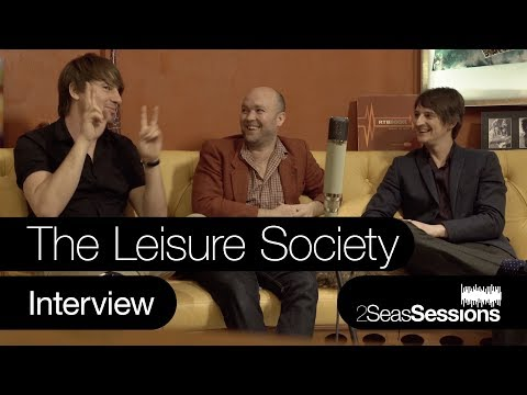 ★ The Leisure Society -  Interview - 2Seas Session #5