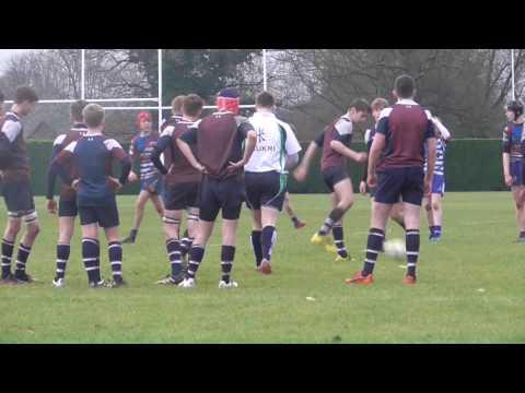 King's Mac Rugby U15's v SOLIHULL U15