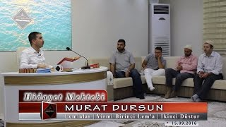 Murat Dursun - Lemalar - Yirmi Birinci Lema - İkinci Düstur