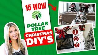 15 HIGH END CHRISTMAS DOLLAR TREE DIY's🎄 2020!!!