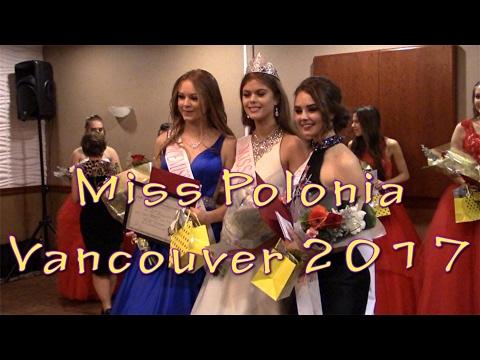 Miss Polonia Vancouver 2017 - Kanada