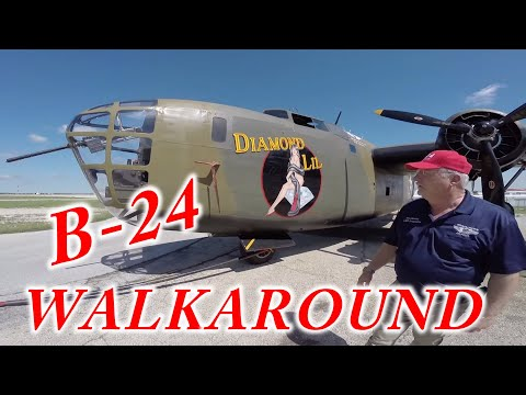 B-24 Liberator Diamond Lil Walkaround