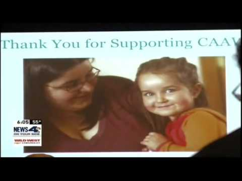 KRNV Reno: Catherine Cortez Masto at Committee to Aid Abused Women luncheon
