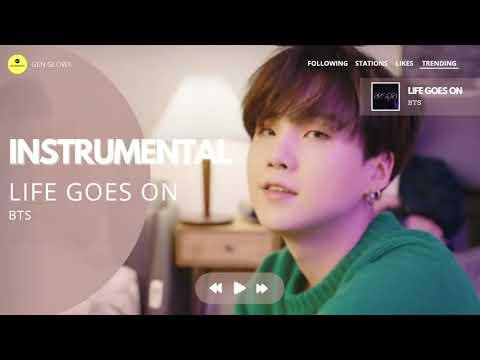 BTS - 'Life Goes On'   INSTRUMENTAL
