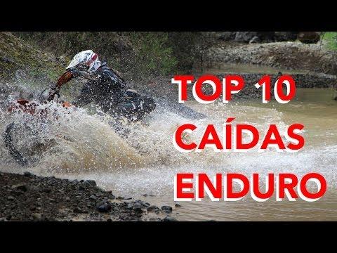 Top 10 caidas enduro 2014: fail motocross dirt bike fail caida